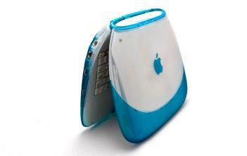 蓝莓色 iBook G3 彩壳版