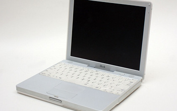 iBook G3 snow