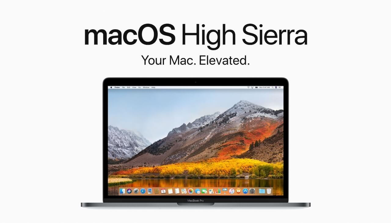 macOS High Sierra logo