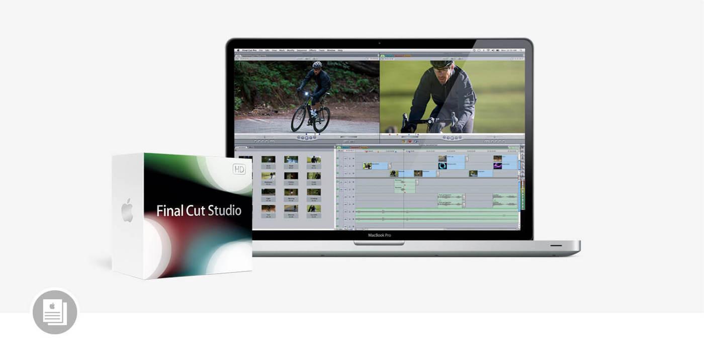 包含 Final Cut Pro 7 的 Final Cut Studio 套装