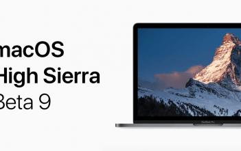 macOS High Sierra beta 9 logo