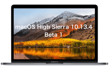 macOS High Sierra 10.13.4 beta 1