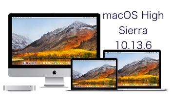 macOS High Sierra 10.13.6 logo