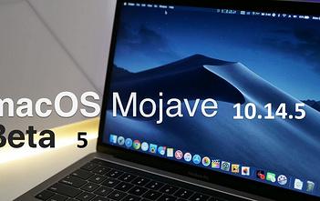 macOS Mojave 10.14.5 beta 5