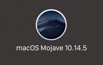 macos mojave 10.14.5 logo