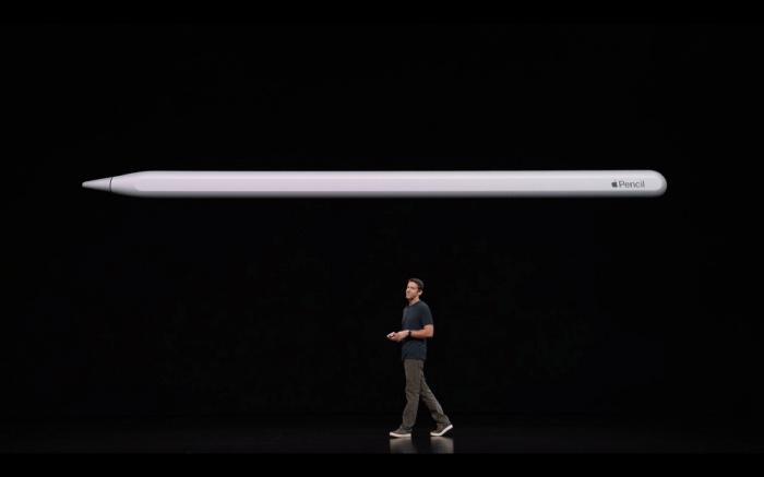 Apple 发布会上介绍 Apple Pencil 2