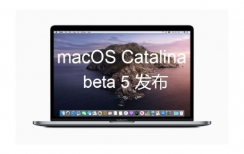macOS Catalina beta 5