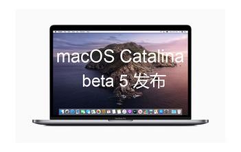 macOS Catalina beta 5