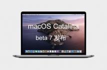 mac OS Catalina 10 .15 dev beta 7