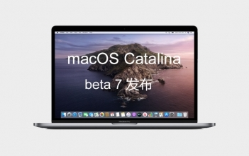 mac OS Catalina 10 .15 dev beta 7