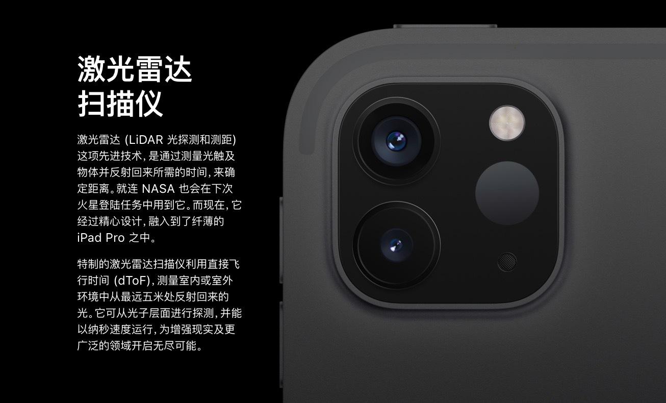 iPad Pro 激光雷达扫描仪