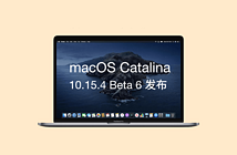 macOS Catalina 10.15.4 Beta 6 logo