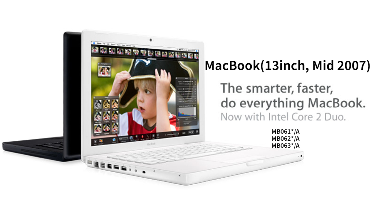 MacBook(13-inch, Mid 2007)一览图