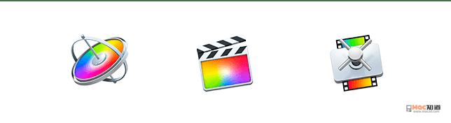 苹果三件套:Final Cut Pro,Motion,Compressor